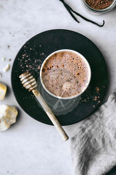 Healthy Dairy Free Hot Chocolate