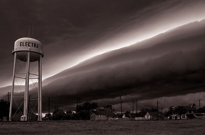 Giant rollcloud | Electra, Texas | 2013