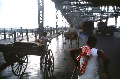 1979, Howrah bridge, Calcutta