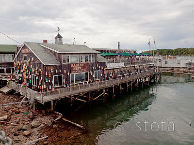 Eagle's Nest lobster restuarant in Bar Harbor