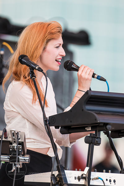 Hoopla - Mary Lambert, McGrath Amphitheater, July 10, 2014