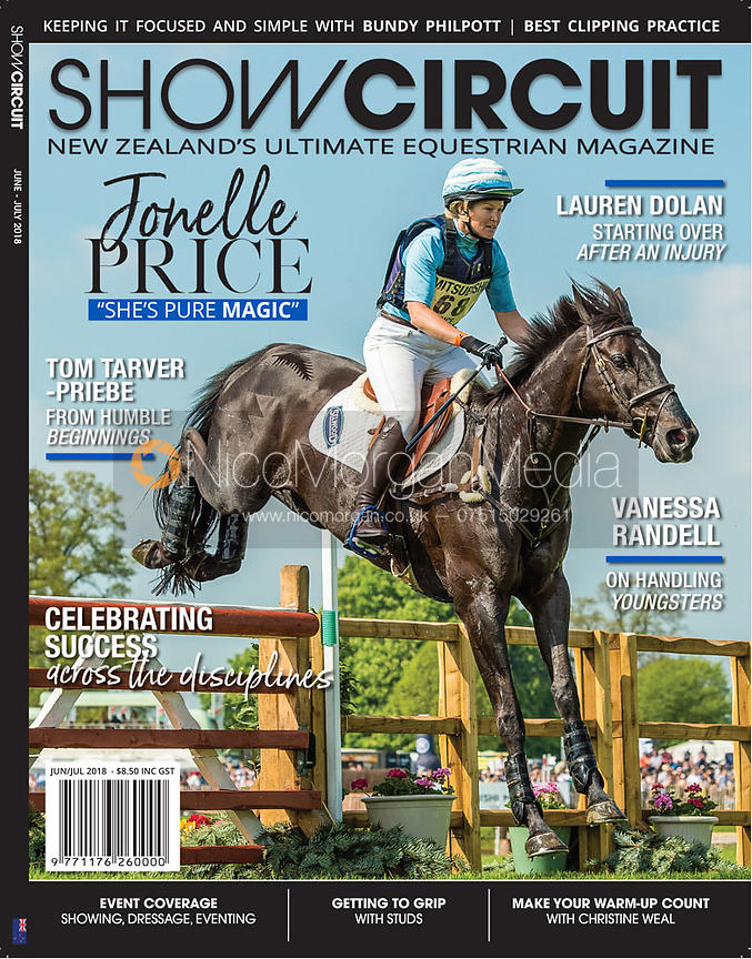 Jonelle Price and CLASSIC MOET - Show Circuit June-July 2018