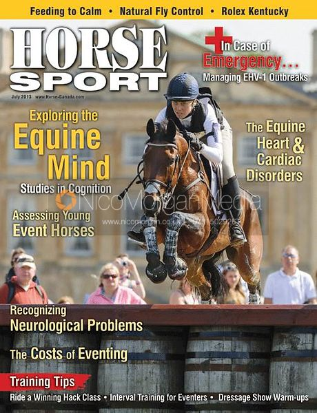 Rebecca Howard and RIDDLE MASTER, Horse Sport - July 2013