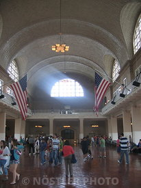 The Hall of the Second Ellis Island Immigration Station