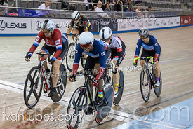 Master Women Keirin 1-6 Final. Canadian Track Championships, Saturday Morning Session, September 29, 2018
