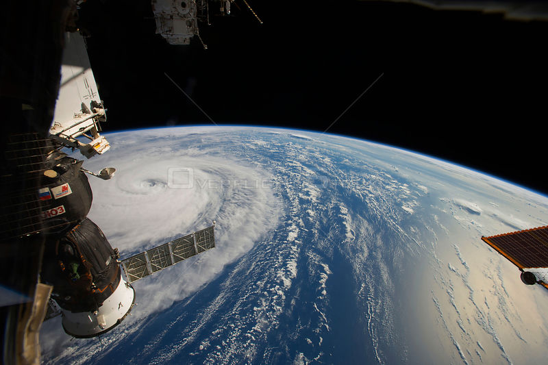 Super Typhoon Noru captured from the ISS