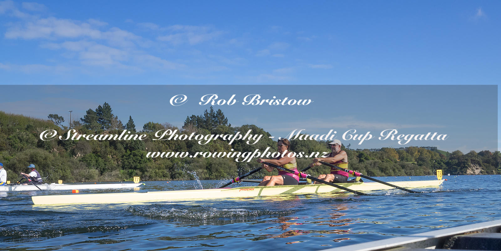 Taken during the World Masters Games - Rowing, Lake Karapiro, Cambridge, New Zealand; ©  Rob Bristow; Frame 1363 - Taken on: ...