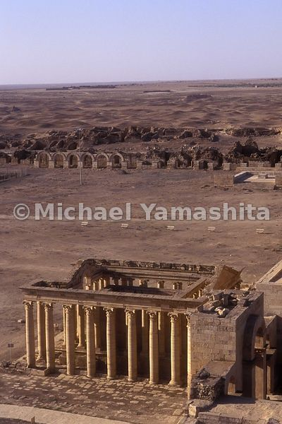 3rd c BC Arabic city.  Archaeologists have studied this site since 1951.  Work has completely stopped due to lack of money 5 ...