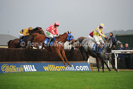 5.20pm 30th Sept 2013 Conditional Jockeys Handicap Steeple Chase with winner Volio Vincente