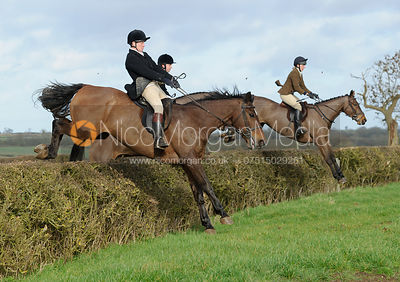 The Belvoir Hunt at Waltham House 30/1