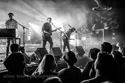 SACRAMENTO, 28 September 2013: Frightened Rabbit, performing at the Ace of Spades, Sacramento