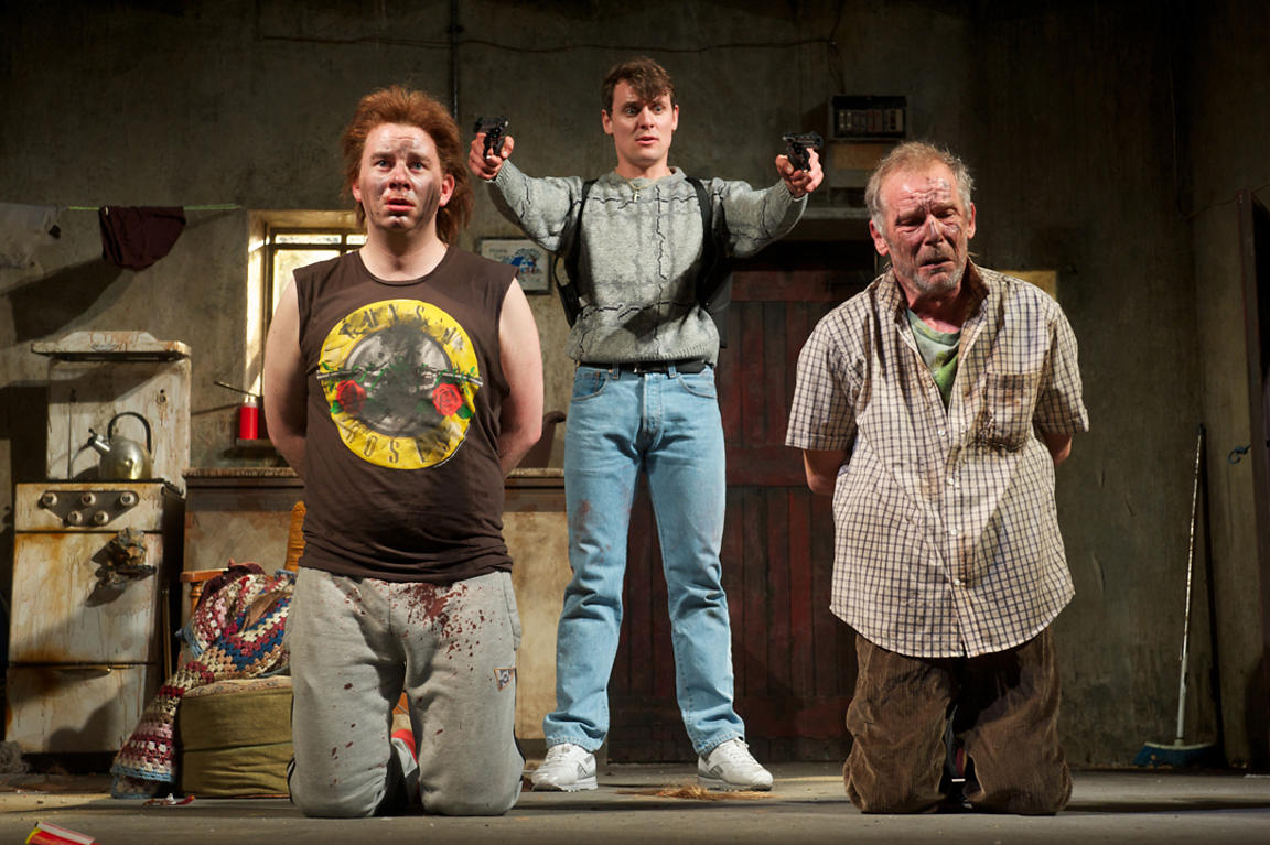 """The Lieutenant of Inishmore"". Royal Lyceum Theatre. Edinburgh"