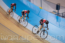 U17 Men Team Sprint. Ontario Track Provincial Championships, March 6, 2016