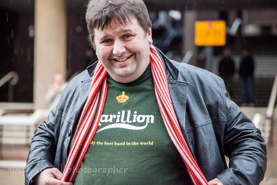 Marillion fans, Wolverhampton UK, 2013