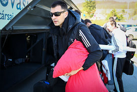 Renato SULIĆ of Veszprém during the Final Tournament - Final Four - SEHA - Gazprom league, team arrival in Varazdin, Croatia,...