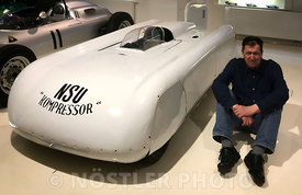"1951 NSU ""Kompressor"" World record car"