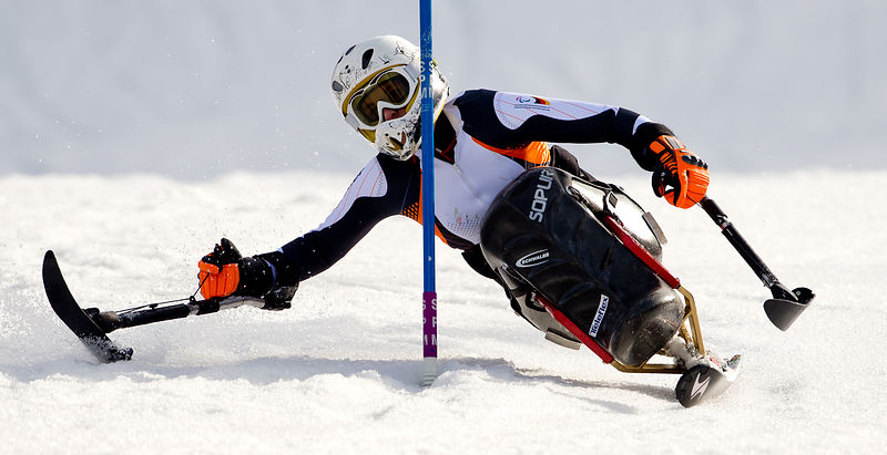 Paralympics Training - Ski Alpin