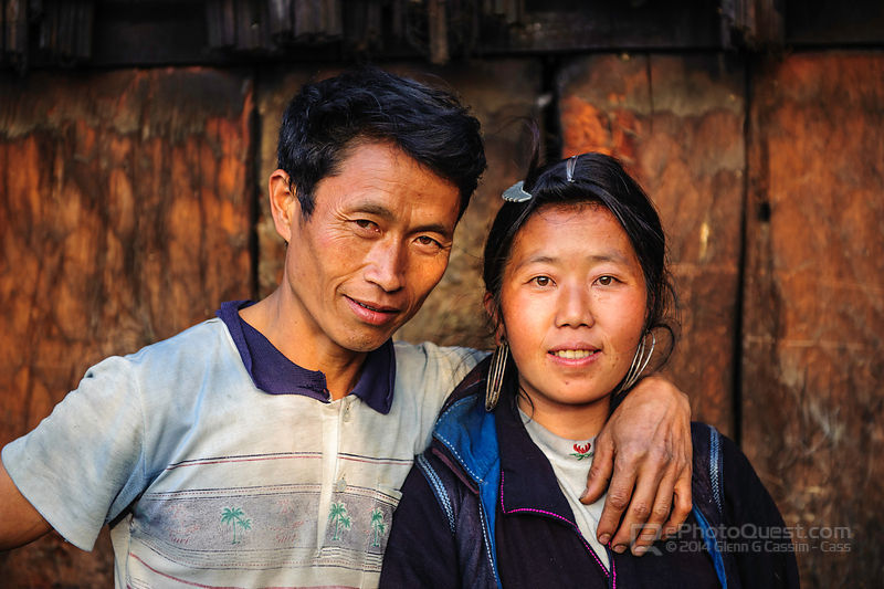 Black Hmong Couple
