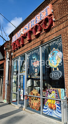 Elm Street Tattoo Parlor store in Dallas Texas