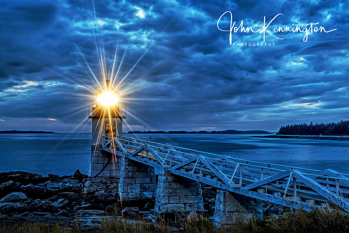 SOLD! Marshall Point Lighthouse, Port Clyde, Maine 16x20 Float Aluminum