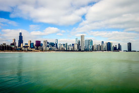 Large Picture of Downtown Chicago Skyline