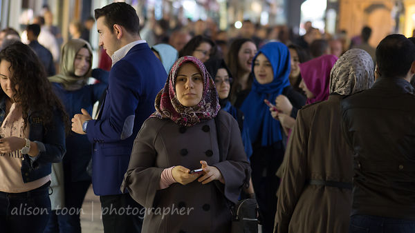 A face in the crowd, Grand Bazaar, Istanbul