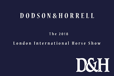 2018 D&H - The London International Horse Show,  photos