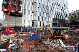 St Vincent Plaza building, 303 St Vincent Street, Glasgow..12.12.14.Free PR Use for Skylark PR and Abstract Securities...Pict...