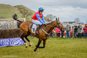 Allthekingshorses, Jamie Alexander winning The Pentland Rover Mens Open Race at Balcormo Point-to-Point on 23 Apr 2016.