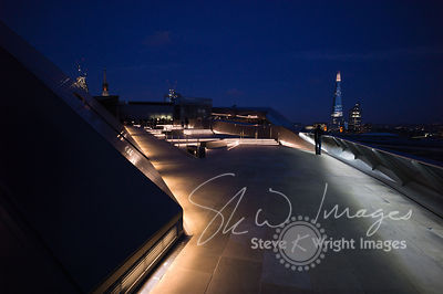 The Shard and skyline at night - London, United Kingdom
