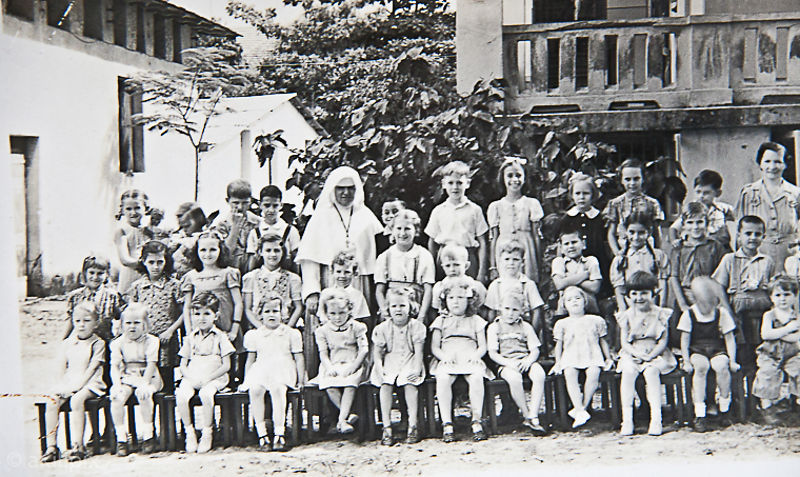 Original school photo from the 1950s