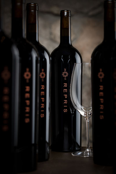 Fine wine and lifestyle drink photography for Repris Winery in Sonoma by Jason Tinacci