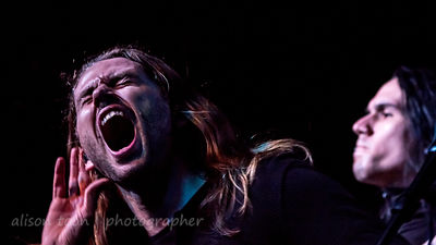 Tim Charles and Xenoyr, vocals, Ne Obliviscaris