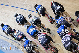 Junior Men Omnium Elimination Race. Milton International Challenge, Mattamy National Cycling Centre, Milton, On, September 30...