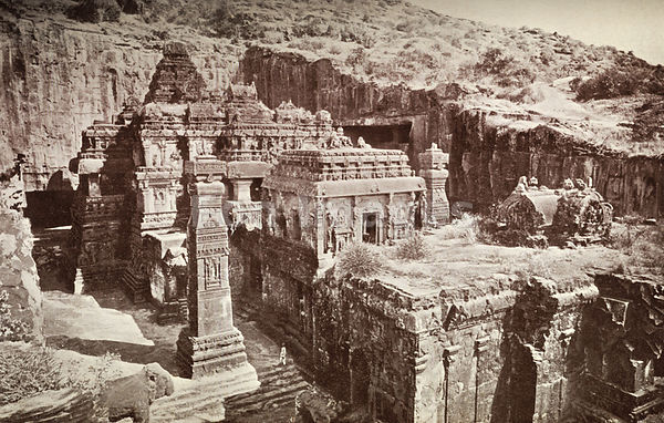 Kailasa Temple, Ellora, India