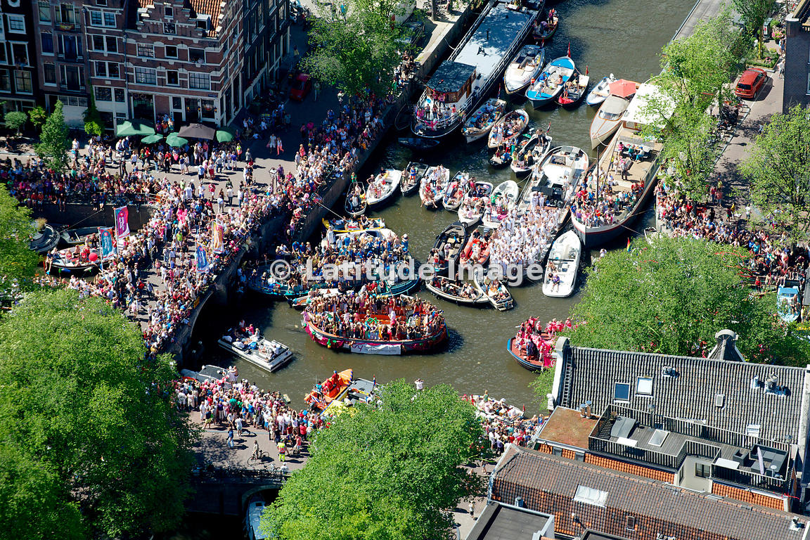 Amsterdam Gay Pride Canal Parade 2013, The Netherlands