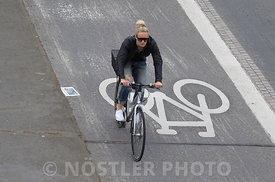 Cyclist on Knippelsbro