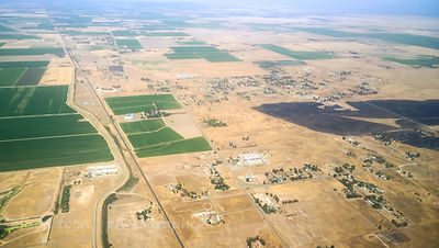 Natomas, California rought, Sacramento to Salt Lake City