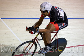 Master B individual pursuit. 2014 Canadian Track Championships, January 6, 2015