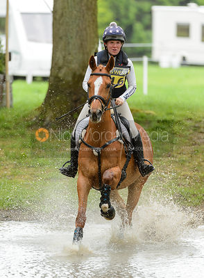 Franki Jarvis and BOO BALOO - Rockingham International Horse Trials 2017