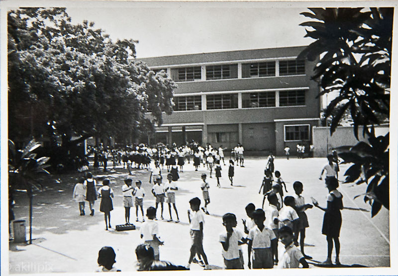 Old photo of school taken late 1950s