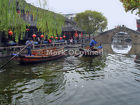 Zhouzhuong water village China