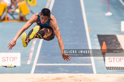 Men's Long Jump Qualification Group CHAN Ming Tai