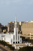 Catholic Cathedral, completed in 1944, Maputo, Mozambique