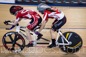 Para Women Tandem Kilo Time Trial. Canadian Track Championships (Jr, U17, Para), April 15, 2018