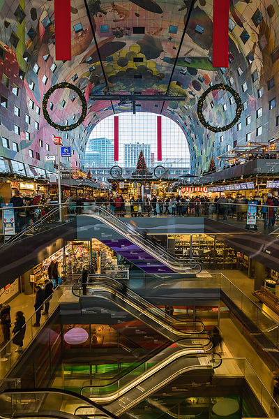 Markthal shopping center, Rotterdam