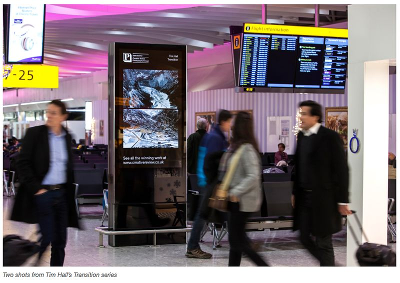 Transition images in Terminal 5