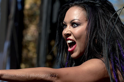 Carla Harvey, vocals, Butcher Babies