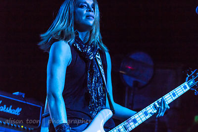 Gina Salatino, bass, Some Fear None