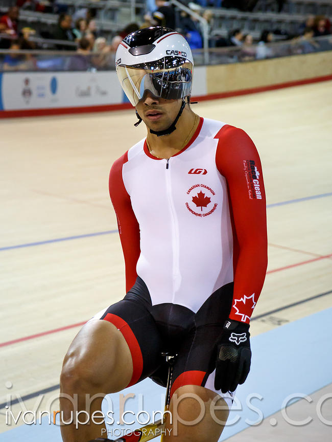 Men's keirin first round. Milton International Challenge, January 11, 2015